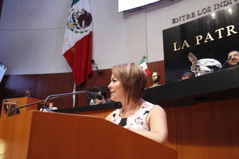 Plantea senadora Minerva Hernández crear el Órgano Técnico de las Finanzas Públicas en elCongreso
