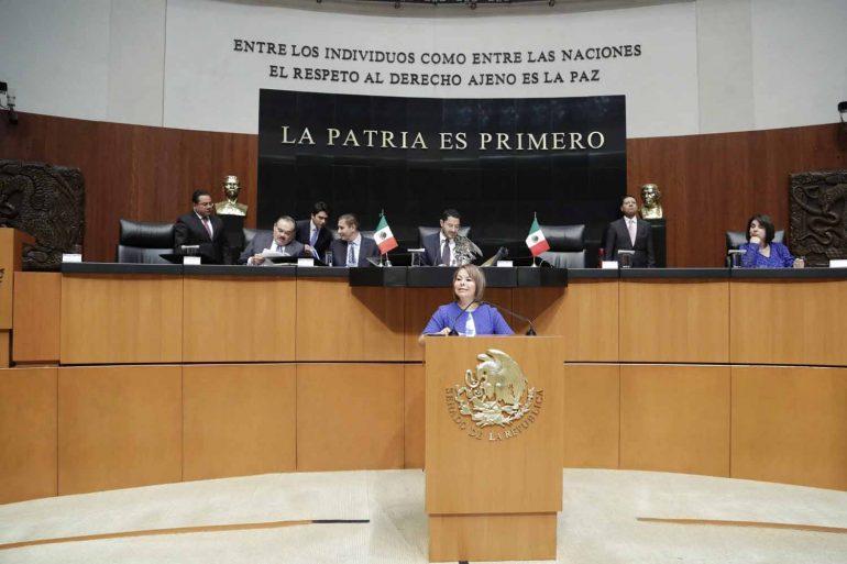 Promueve la senadora Minerva Hernández la creación del Órgano Técnico de las Finanzas Públicas del Poder LegislativoFederal