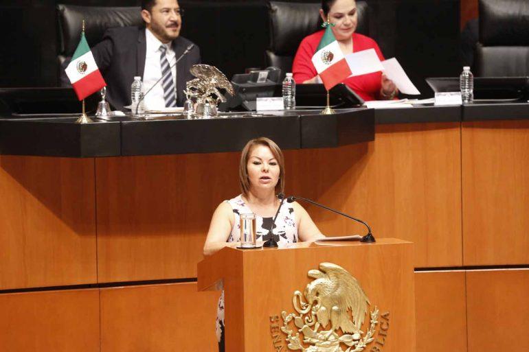Senadora Hernández Ramos plantea nueva ley para alcanzar equilibrio en gastopúblico